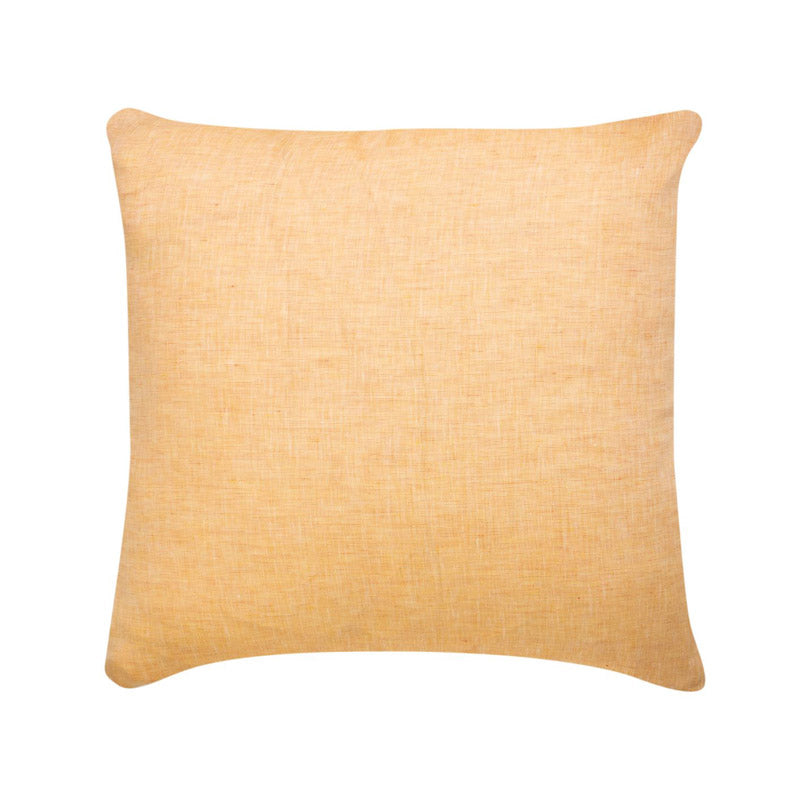 Cushion Linen Apricot 55x55 filled