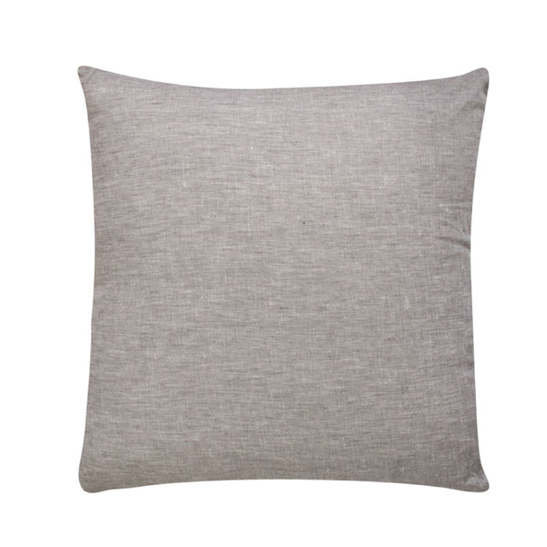 Cushion linen Grey filled 55x55cm