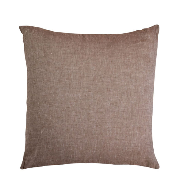 Cushion linen Latte filled 55x55cm