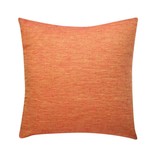 Cushion Linen Burnt Orange filled 55x55cm
