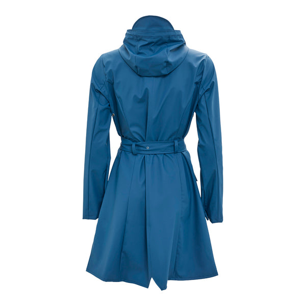 Raincoat Curve Faded Blue