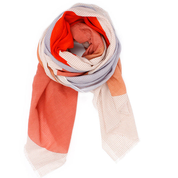 Scarf Galet Corail
