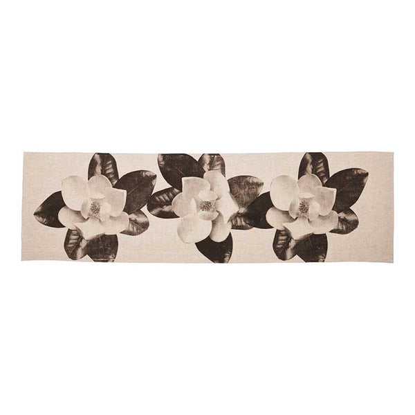 Black Table Runner Grandiflora