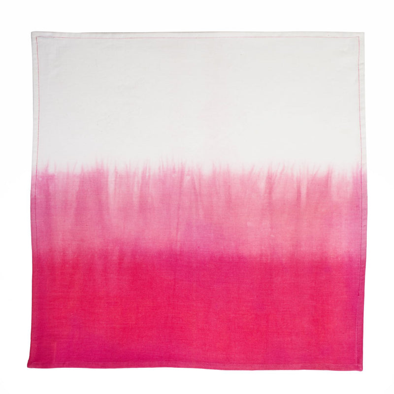 Napkin Set/6 Pink Ombre