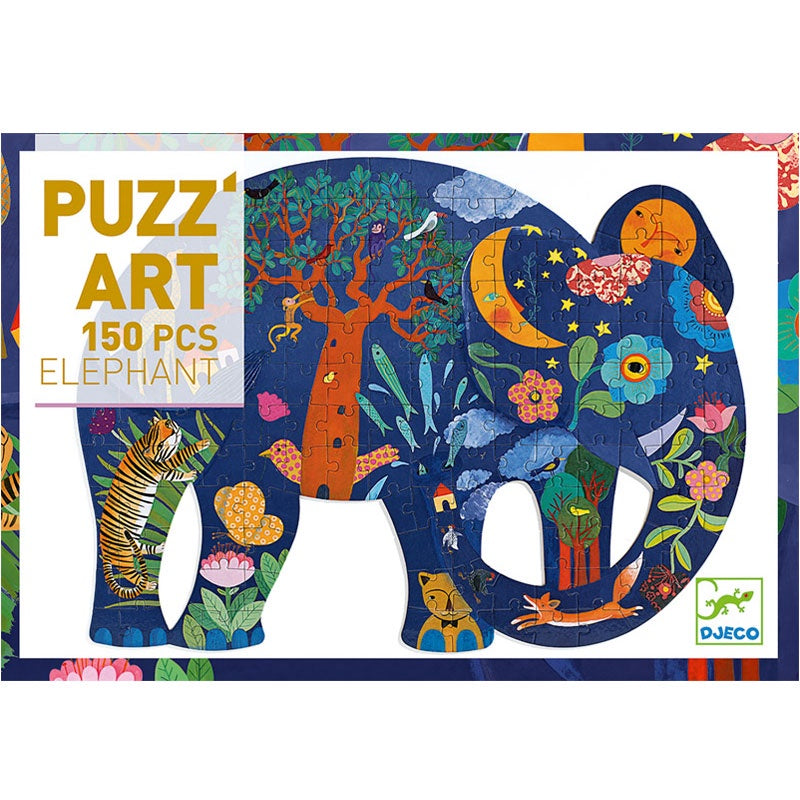 Puzzle Art Elephant 150pc