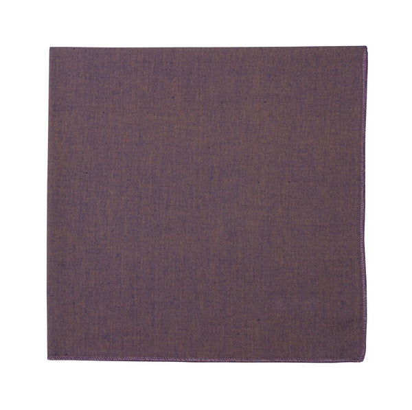 Napkin Set/12 Purple Orange Shot Linen