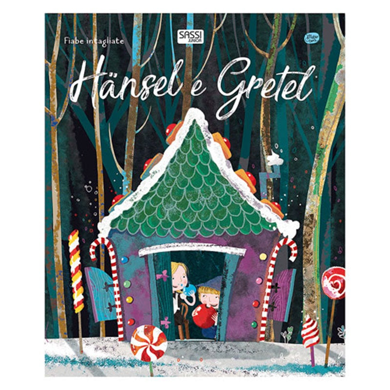 Hansel & Gretel die cut Book
