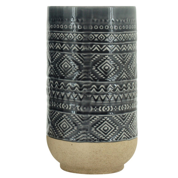 Vase Small Black Cylinder Aapo