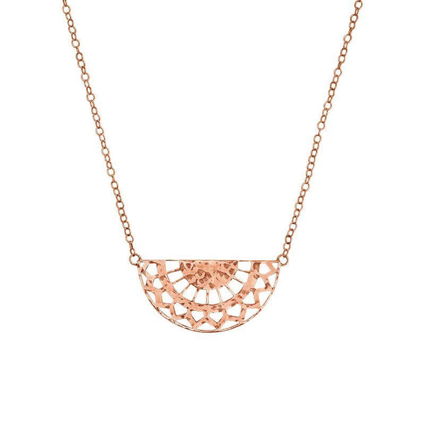 Necklace Rose Gold Ottoman Sterling