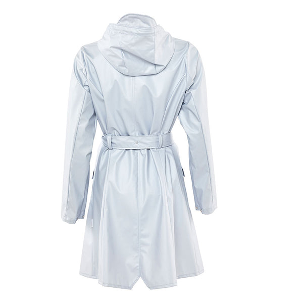 Raincoat Curve Metallic Ice Grey