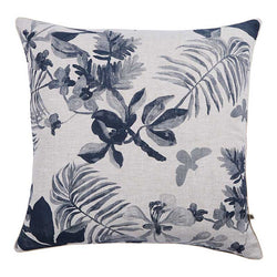 Palms Indigo Cushion 60x60cm