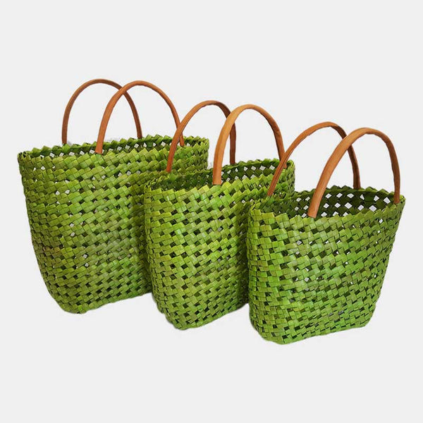 Basket Shopper Light Green