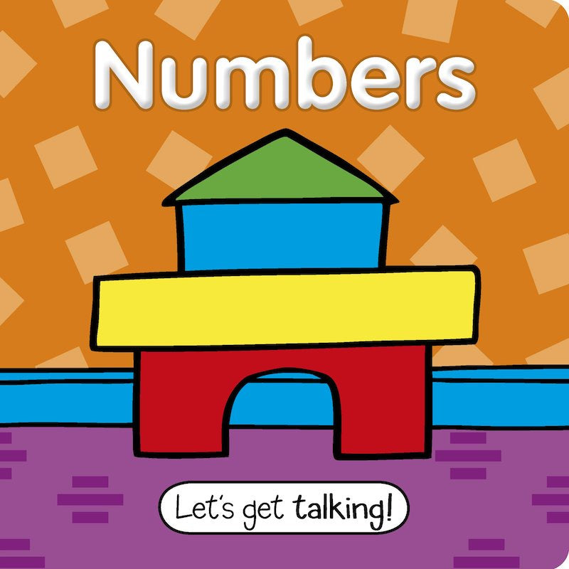 Numbers Padded Board Book