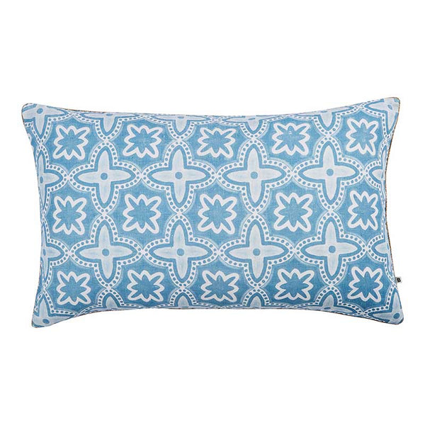 Daintree Dusky Blue Cushion 75x45cm