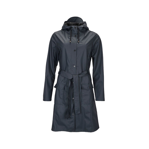 Raincoat Curve Blue
