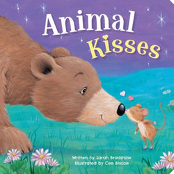 Animal Kisses Board Book