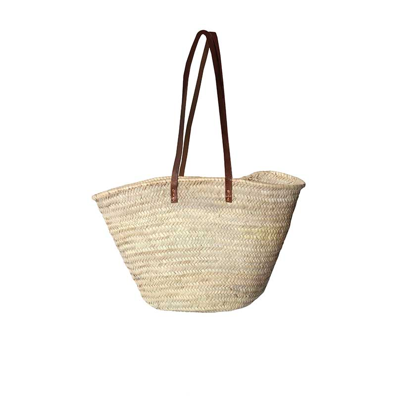 Shopping Basket Long Handles Moroccan
