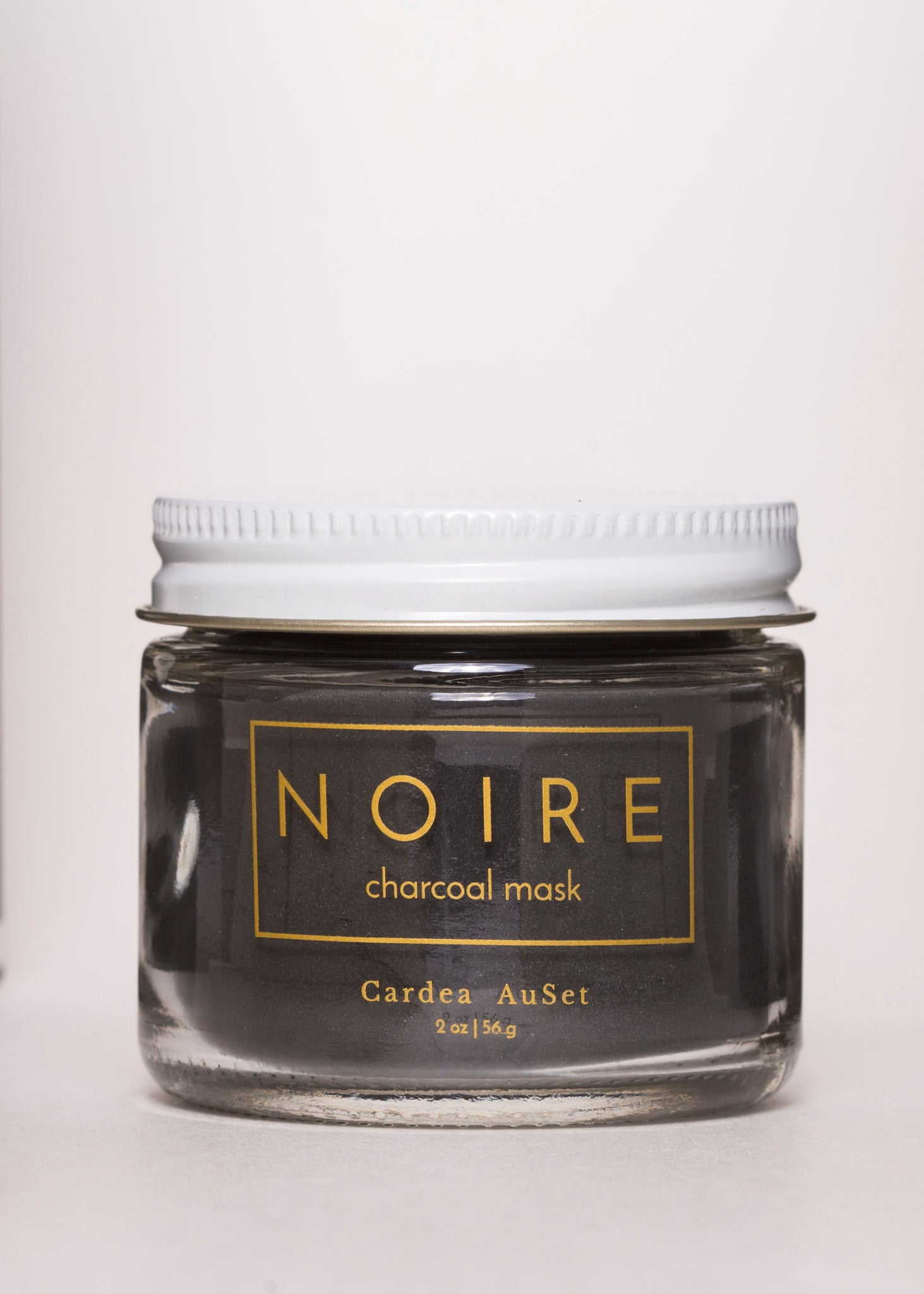 NOIRE Charcoal Mask - Cardea AuSet | Goodnight Beauty | mask, clay mask, natural beauty, vegan beauty, natural skin care, made in canada