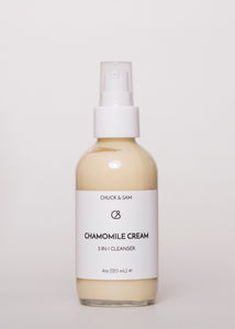 Chamomile Cream - Chuck & Sam | Goodnight Beauty | cleanser, essential oil, US brand, made in USA, natural beauty, natural skin care, skin care