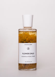 Flower Child - Chuck & Sam | Goodnight Beauty | toner, made in usa, natural skin care, natural beauty, combination skin, oily skin, acne