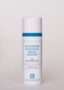Maximum Glycolic Meta Serum - Consonant Skincare | Goodnight Beauty | glycolic, glycolic acid, serum, brightening, Canada beauty, Canada brand, made in Canada, consonant, natural beauty, natural skin care