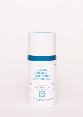 Ultra Firming Organic Eye Cream - Consonant Skincare | Goodnight Beauty | organic, firming, consonant, natural beauty, natural skin care, canada brand, canada beauty, made in canada