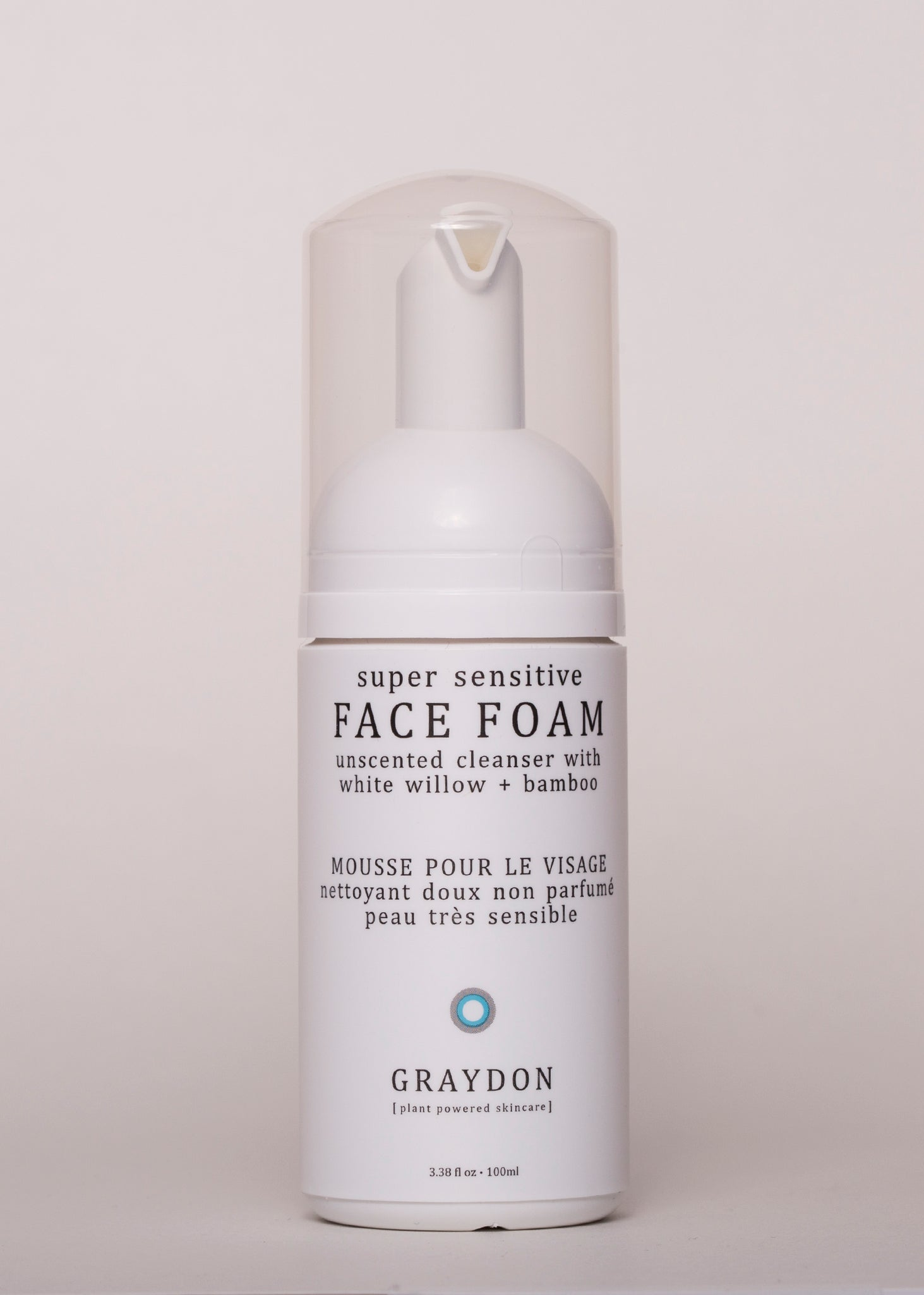 Face Foam - Graydon Skincare | Goodnight Beauty | cleanser, face wash, bamboo, natural beauty, natural skin care, canada beauty, canada brand, made in canada