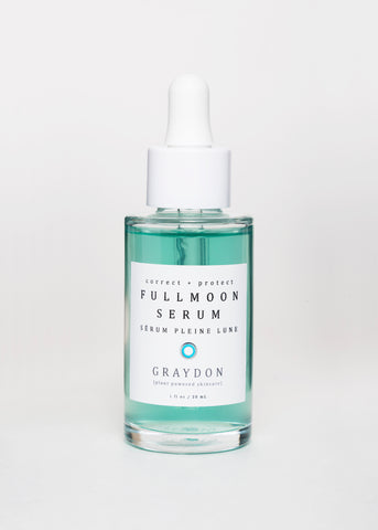 Fullmoon Serum by Graydon Skincare | Goodnight Beauty - natural skin care, serum, antiage, hydration, antioxidants, green beauty, cruelty free, organic, made in Canada