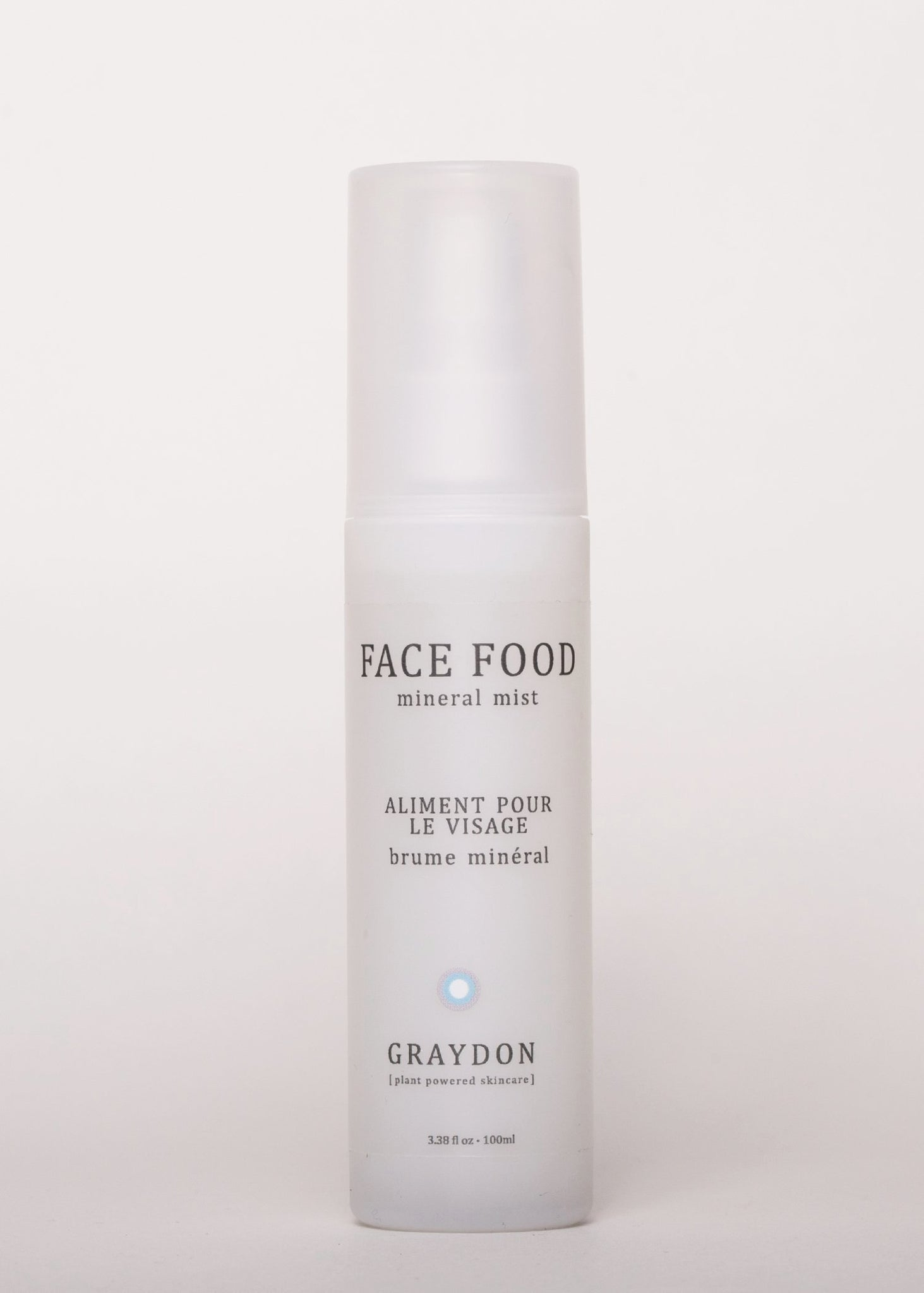 Face Food Mineral Mist - Graydon Skincare | Goodnight Beauty | toner, face mist, super food, mineral, natural beauty, natural skin care, skin care, graydon, made in canada, canada brand, canada beauty