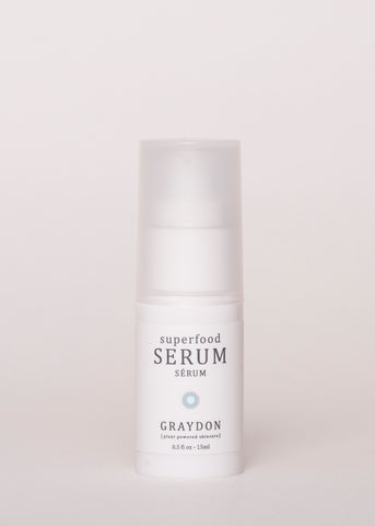 Super Food Serum - Graydon Skincare | Goodnight Beauty | canada brand, canada beauty, natural skin care, natural beauty, made in canada, anti aging, sensitive skin