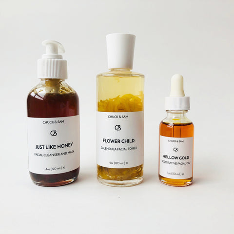 Flower & Honey - Goodnight Beauty | skin care kit, sets, flower, honey, natural beauty