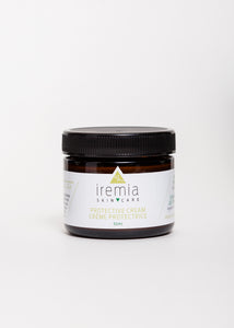 Iremia Skincare Protective Cream hydrates and improves elasticity