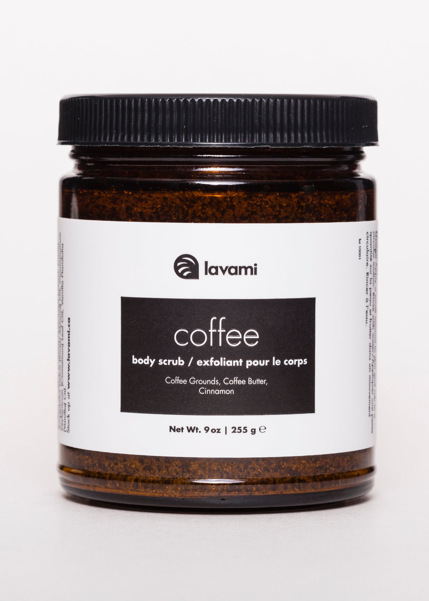 Coffee Body Scrub - Lavami | Goodnight Beauty | made in canada, canada brand, canada beauty, natural beauty, natural skin care