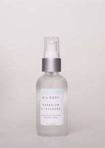 Normal Skin Cleansing Oil - Niu Body | Goodnight Beauty |cleanser, cleansing oil, normal skin, niu body, canada brand, made in canada, canada beauty, natural beauty, natural skin care, coconut oil