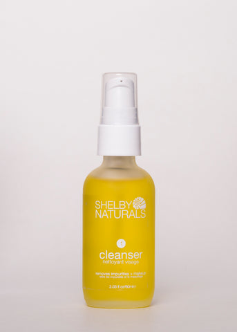 Cleanser - Shelby Naturals | Goodnight Beauty | cleansing oil, essential oil, made in canada, canada brand, canada beauty, natural beauty, natural skincare, organic