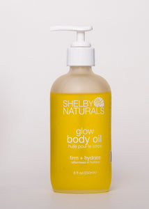 Glow Body Oil - Shelby Naturals | Goodnight Beauty | body oil, dry skin, body care, glow, canada brand, canada beauty, natural beauty, natural skin care, made in canada