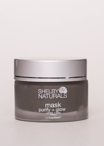 Mask - Shelby Naturals | Goodnight Beauty | dead sea, natural skin care, natural beauty, canada beauty, made in canada, glow, canada brand