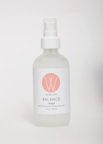 Balance Geranium Orange Blossom Toner by Wildcraft | Goodnight Beauty - natural skin care, toner, green beauty, cruelty free, organic, made in Canada