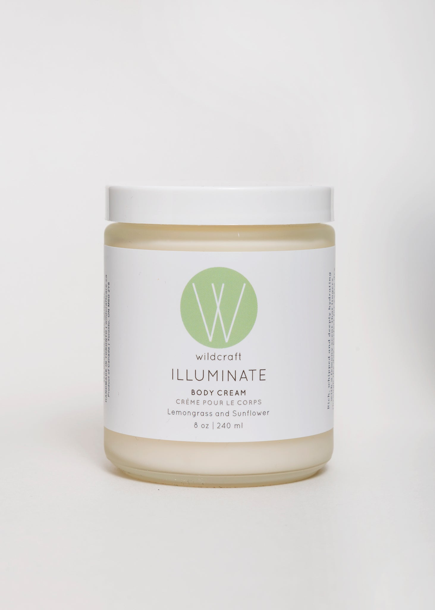 Lemongrass Body Cream by Wildcraft | Goodnight Beauty - natural skin care, body care, sunflower, green beauty, cruelty free, organic, made in Canada