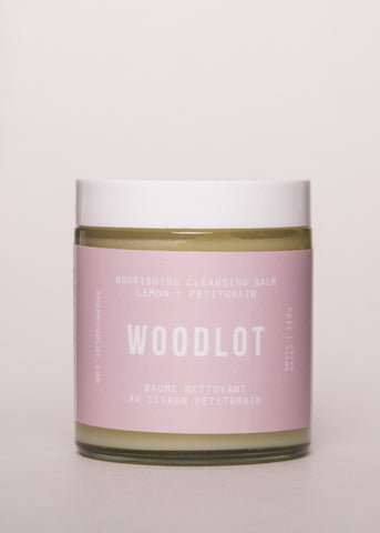 Nourishing Cleansing Balm - Woodlot | Goodnight Beauty | cleanser, cleansing balm, essential oil, woodlot, canada brand, canada beauty, made in canada, natural skin care, natural beauty, combination skin