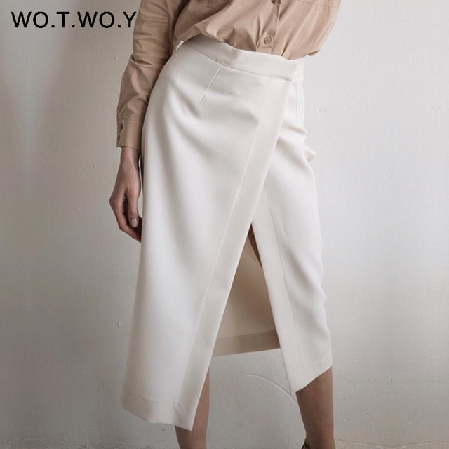 OCTAVIA High-Waist Skirt