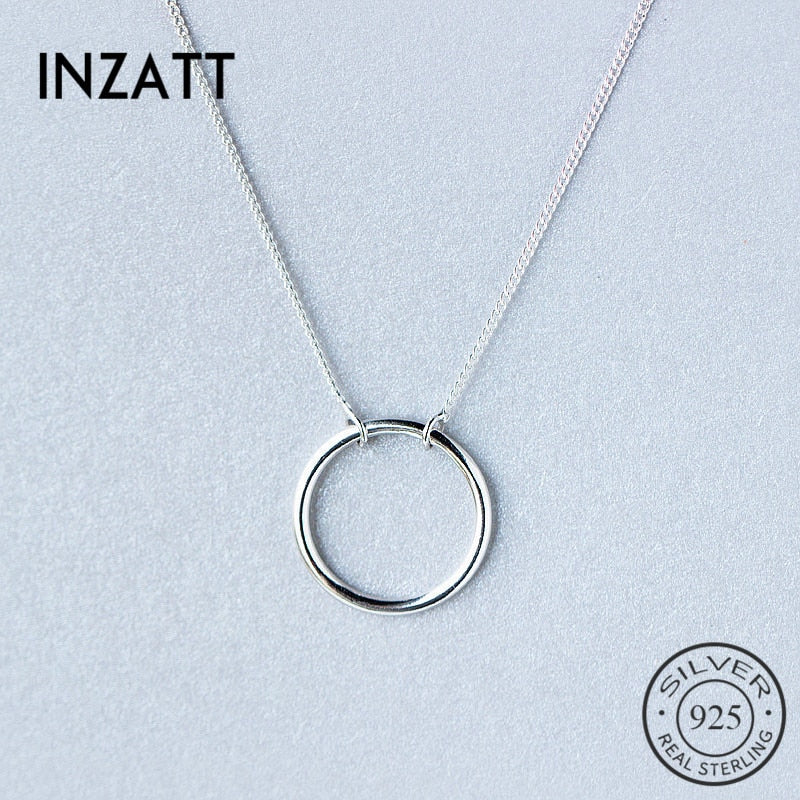 Personal Pendant Sterling Silver Necklace