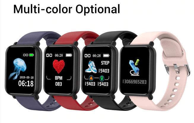 multicolor fitness tracker apple watch