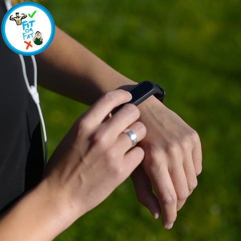 Fitness tracker for the health