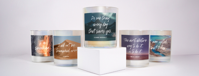 "The ""Women Who Light Us Up"" Candle Collection Is Here 