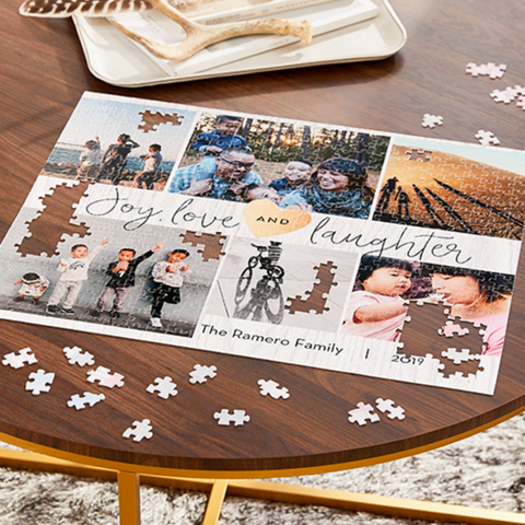 personalized family puzzle