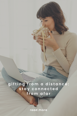 gifting from a distance pin