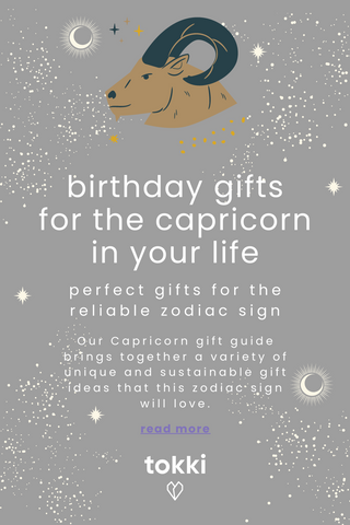 capricorn gift guide pin