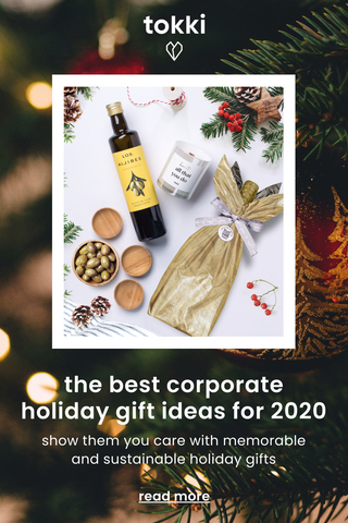 corporate holiday gift ideas pin