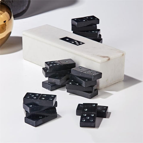 marble dominoes set